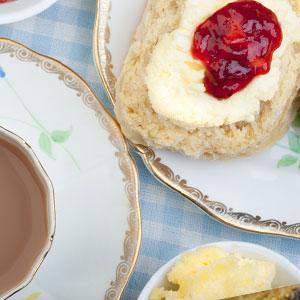 cream scones tea